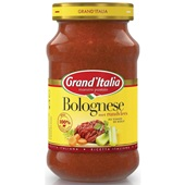Grand'Italia Pastasaus Bolognese voorkant