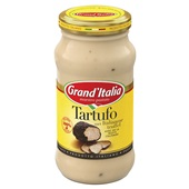 Grand'Italia pastasaus truffelsaus achterkant