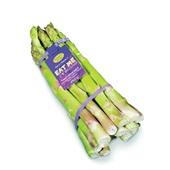 groene asperges achterkant