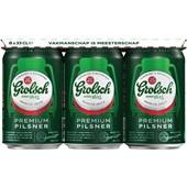 Grolsch Bier Blik 6X33 Cl voorkant