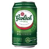 Grolsch Bier Blik 6X33 Cl achterkant