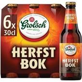 Grolsch herfstbock bier voorkant