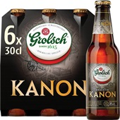 Grolsch Het Kanon Bier Fles 6X30 cl voorkant