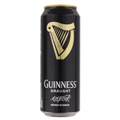 Guinness Bier Draught Blik 50Cl voorkant