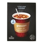 Gwoon 1-kops soep tomaat voorkant