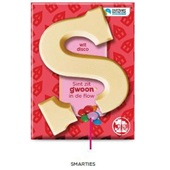 Gwoon chocolade letter disco voorkant