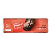 Gwoon chocolade reep puur voorkant