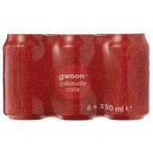 Gwoon cola regular 6x33cl voorkant