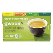 Gwoon groene thee variatie voorkant