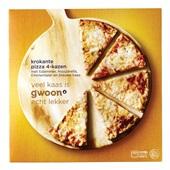 Gwoon krokante pizza 4-kazen voorkant