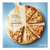 Gwoon pizza tonijn voorkant