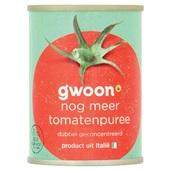 Gwoon tomatenpuree  dubbel geconcentreerd  voorkant