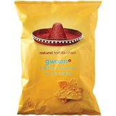 Gwoon tortilla chips chips naturel voorkant