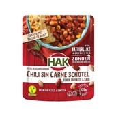 Hak chili sin carne schotel voorkant