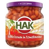 Hak witte bonen in tomatensaus voorkant