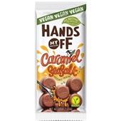 Hands Off My Chocolate Vegan caramel seasalt voorkant