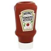 Heinz Ketchup Tomato Top Down achterkant