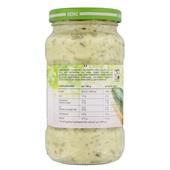 Heinz sandwich Spread komkommer achterkant