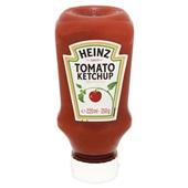 Heinz Tomatenketchup Top Down achterkant