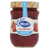 Hero aardbeienjam minder zoet voorkant