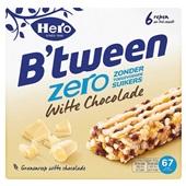 Hero b'tween zero witte chocolade voorkant
