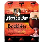Hertog Jan herfstbock bier voorkant