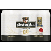 Hertog Jan pils alcoholvrij voorkant