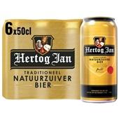 Hertog Jan Pils Blik 6X50 Cl voorkant