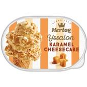 Hertog karamel cheesecake voorkant