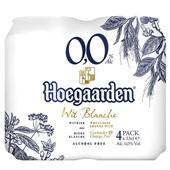 Hoegaarden witbier 0.0% voorkant
