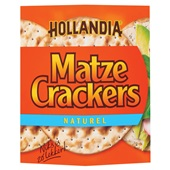 Hollandia Matzes Crackers Naturel voorkant