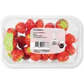 Hollandse aardbeien achterkant