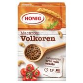 Honig macaroni volkoren voorkant
