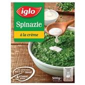 Iglo spinazie à la crème voorkant