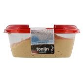 Johma tonijnsalade achterkant