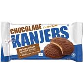 Kanjers wafels chocolade karamel voorkant