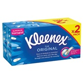 Kleenex tissues box voorkant