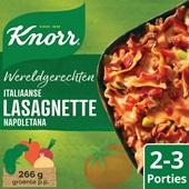 Knorr Wereldgerechten Italiaanse lasagnette Napoletana voorkant