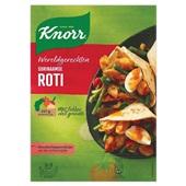 Knorr wereldgerechten Surinaamse roti voorkant