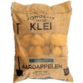 kruimige aardappelen voorkant