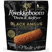 Kwekkeboom Black Angus croquetten oven en airfryer voorkant