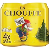 La Chouffe bier  4-pack  voorkant