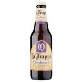 La Trappe Quadrupel fles 30 cl voorkant