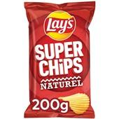 Lay's Superchips  Naturel voorkant