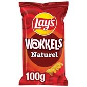 Lay's wokkels chips naturel voorkant