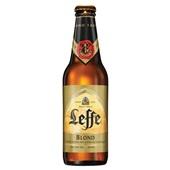 Leffe Bier Blond achterkant