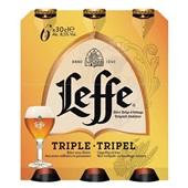 Leffe Tripel Speciaalbier Fles 6X30 Cl voorkant