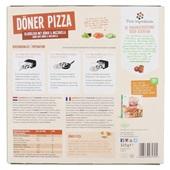 Lekker en Anders Döner Pizza achterkant