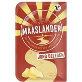 Maaslander Jong belegen 50+ kaas in plakken voorkant