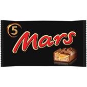 Mars chocolade 5 Pack voorkant